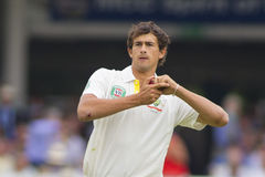 The Investec Ashes Second Test Match Day Three Stock Photo