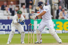 The Investec Ashes Second Test Match Day Three Stock Photography