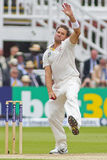 The Investec Ashes Second Test Match Day Three Stock Images