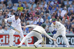 The Investec Ashes Third Test Day Four Royalty Free Stock Images
