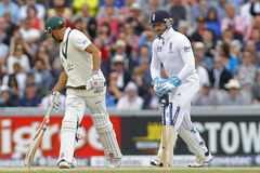 The Investec Ashes Third Test Day Four Royalty Free Stock Photos