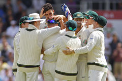 The Investec Ashes Third Test Day Three Royalty Free Stock Photo