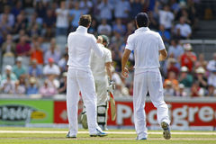 The Investec Ashes Third Test Day Two Stock Image