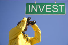 Investeer royalty-vrije stock fotografie