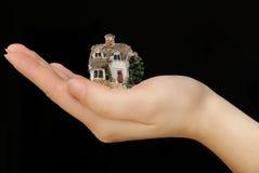 Investeer binnenshuis bezit stock foto's