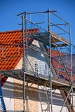 investeer binnenshuis de bouw royalty-vrije stock fotografie