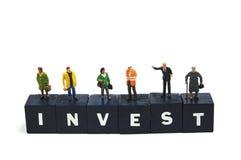 Investeer in de toekomst Stock Afbeeldingen