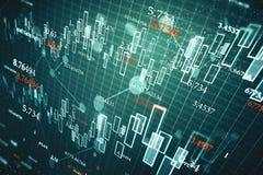 Investeer en financier achtergrond royalty-vrije stock afbeelding