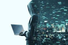 Investeer en phishing concept royalty-vrije stock foto