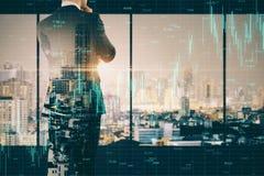 Investeer en professioneel concept royalty-vrije stock afbeeldingen