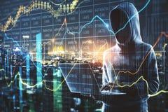 Investeer en wissel concept uit royalty-vrije stock afbeeldingen