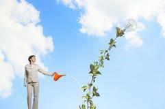 Investeer om uw inkomens te verhogen royalty-vrije stock afbeelding