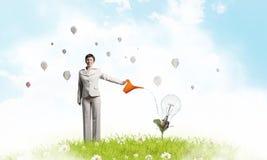 Investeer om uw inkomens te verhogen stock afbeelding