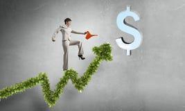 Investeer om uw inkomens te verhogen royalty-vrije stock foto