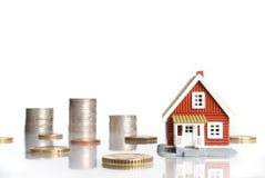 Investeer in onroerende goederenconcept. royalty-vrije stock afbeelding