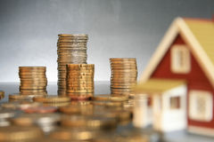 Investeer in onroerende goederenconcept. royalty-vrije stock fotografie
