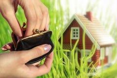 Investeer in onroerende goederenconcept. Royalty-vrije Stock Foto