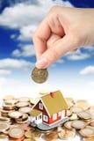 Investeer in onroerende goederenconcept. royalty-vrije stock afbeeldingen