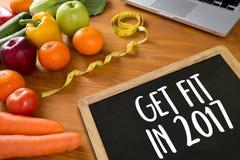 Investeer in uw gezondheid, Gezond levensstijlconcept met dieet en Royalty-vrije Stock Fotografie