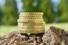 Investeer uw van de bedrijfs geld super kwaliteit abstract beeld royalty-vrije stock afbeelding