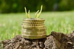 Investeer uw van de bedrijfs geld super kwaliteit abstract beeld royalty-vrije stock foto's