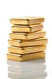 investera för guld som är verkligt Royaltyfri Fotografi