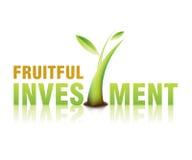 Investering 01 stock illustratie