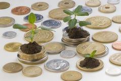 Investering Stock Fotografie