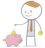 Investering stock illustrationer