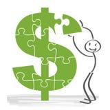 investering royalty-vrije illustratie