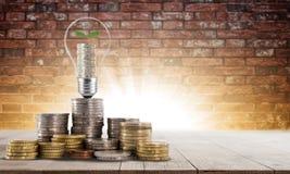 Investering din budget för att växa din affär Arkivbilder