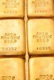 Investering in echt goud dan gouden passement royalty-vrije stock fotografie