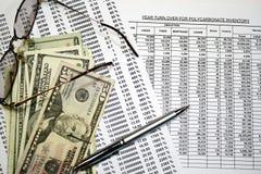 Investering en Geld Stock Foto