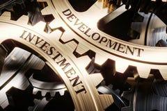 Investering en ontwikkelings 3d het concept van het toestellenmechanisme stock illustratie