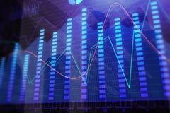 Investering en verkoopbehang Royalty-vrije Stock Fotografie