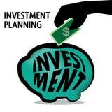 Investering Planning Royalty-vrije Stock Fotografie