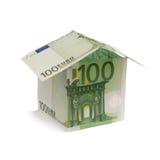 Investering voor het leven - huislening Stock Afbeeldingen