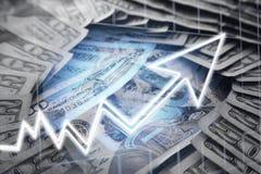 Investeringen het Groeien stock foto