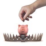 Investeringsrisico royalty-vrije stock afbeeldingen