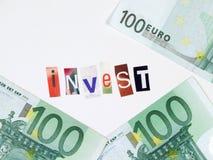 Investieren Sie Stockfoto