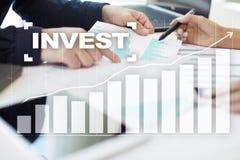 Investieren Sie Anlagenrendite Conceptual Image Technologie- und Geschäftskonzept Lizenzfreies Stockbild