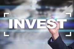 Investieren Sie Anlagenrendite Conceptual Image Technologie- und Geschäftskonzept Stockfotos