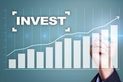Investieren Sie Anlagenrendite Conceptual Image Technologie- und Geschäftskonzept Stockfoto