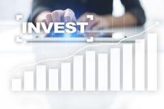 Investieren Sie Anlagenrendite Conceptual Image Technologie- und Geschäftskonzept Lizenzfreie Stockbilder