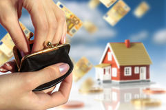 Investieren Sie im Grundbesitz lizenzfreie stockfotos