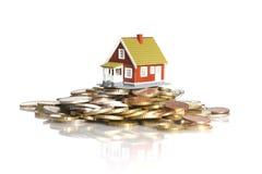 Investieren Sie im Grundbesitzkonzept. Lizenzfreie Stockbilder
