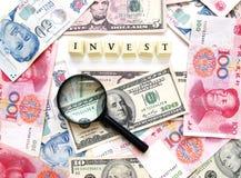 Investieren Sie Konzept Stockfotos