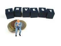 Investierung Lizenzfreie Stockfotografie