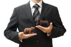 Investierung in der Börse Stockfoto