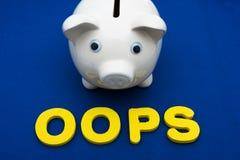 Investierung Ihrer Sparungen Stockfotos